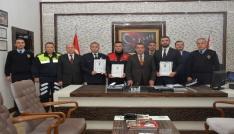 Antalyada ayın polisleri ödüllendirildi