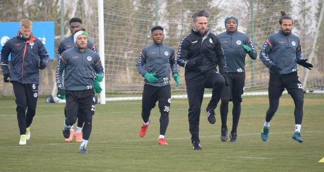 Atiker Konyaspor, Batman Petrolspor maçı hazırlıklarına başladı