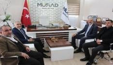 İl Emniyet Müdürü Ömer Urhaldan MÜSİADa  ziyaret