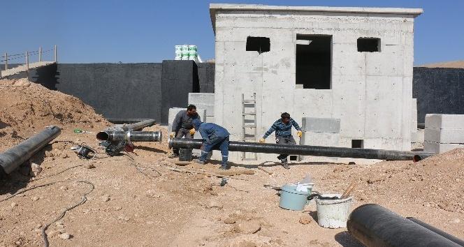 Büyükşehirin su yatırımları kız kesmiyor