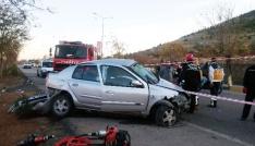 Gaziantepte feci kaza: 1 ölü, 4 yaralı