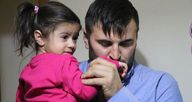 Türkiyenin ağladığı Esila, babasına kavuştu