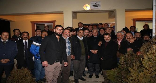 Başkan Başsoy Kurutilek Mahallesi sakinleriyle biraraya geldi