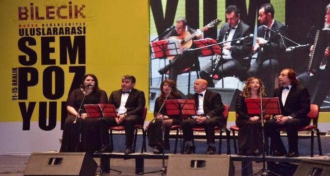 Sempozyum kapsamında muhteşem konser