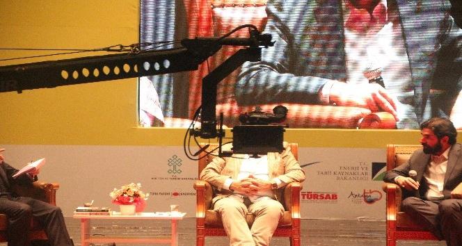 Uluslararası Marka Değerleriyle Bilecik Sempozyumunda jimmy jib sorunu
