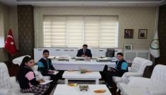 Öğrencilerden Rektör Almaya ziyaret