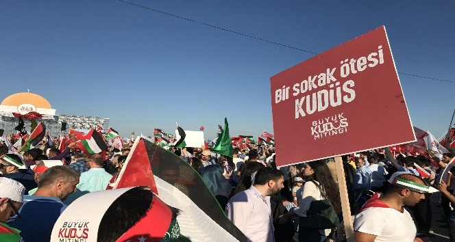 Memur Senden Ankarada Kudüs mitingi çağrısı