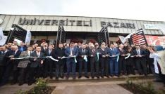 Türkiyenin ilk Üniversiteli Pazarı İzmitte açıldı