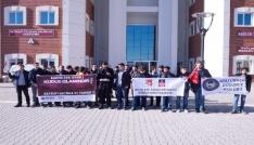 Üniversite öğrencilerinden Kudüs protestosu