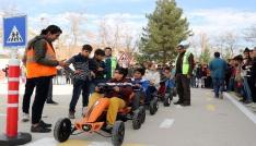 Mardinde Çocuk Trafik Eğitim Parkı projesi