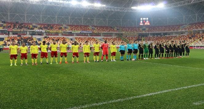 Ziraat Türkiye Kupası: Evkur Yeni Malatyaspor: 1 - Osmanlıspor: 1 (İlk yarı)