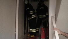 Kızıltepede ev yangını