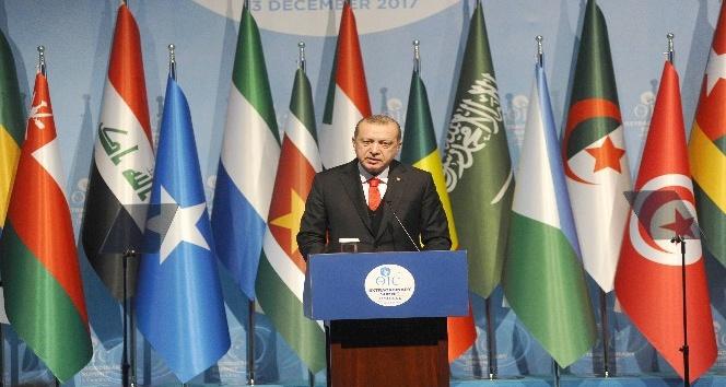 """Erdoğan: """"Filistin devletini henüz tanımamış tüm ülkelere derhal Filistini tanıma çağrısı yapıyorum"""""""