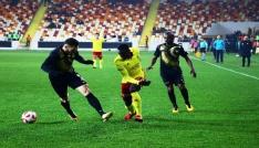 Ziraat Türkiye Kupası: Evkur Yeni Malatyaspor: 1 - Osmanlıspor: 1 (Maç sonucu)
