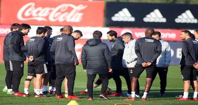 Beşiktaş, Osmanlıspor maçı hazırlıklarına başladı