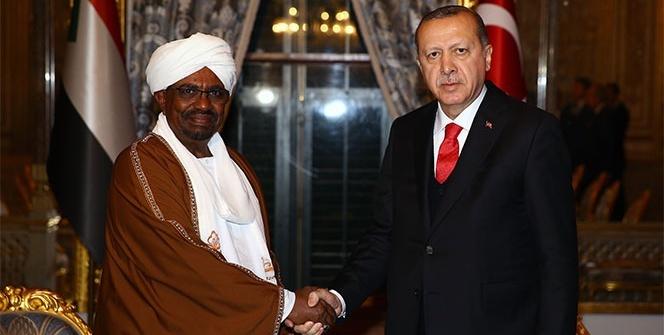 Cumhurbaşkanı Erdoğan, Sudan Devlet Başkanı ile bir araya geldi