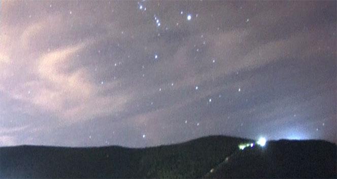 Geminid meteor yağmuru Nilüferde izlendi