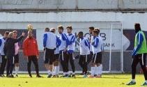 Trabzonspor, Bursaspor maçı hazırlıklarını sürdürdü !