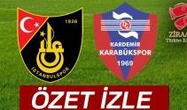 ÖZET İZLE: İstanbulspor 1-0 Karabükspor Maçı Özeti ve Golleri İzle|İstanbulspor Karabükspor kaç kaç bitti?