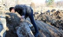 Kanalizasyon çalışmalarında Geç Roma dönemine ait eserler bulundu