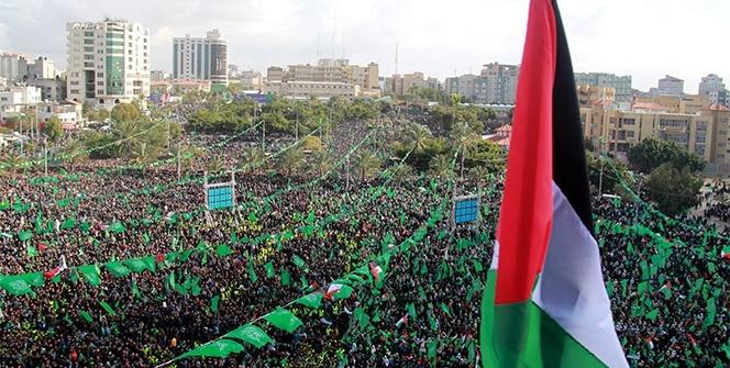 Hamas, 30. kuruluş yıl dönümünü kutladı