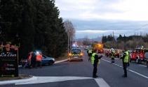 Fransada tren ile okul servisi çapıştı: 4 ölü, 19 yaralı