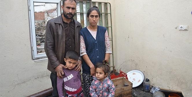 Canbaz ailesi yanan evleri için yardım bekliyor