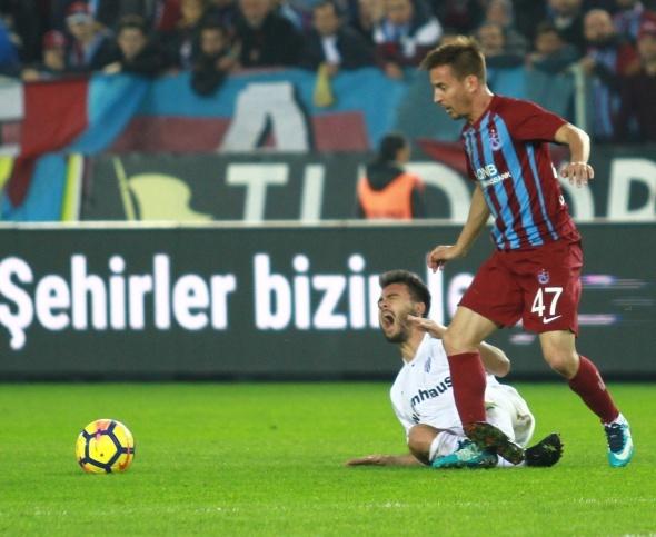 Trabzonspor Bursaspor Maçından Kareler