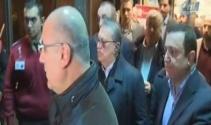 Mesut Yılmaz oğlunun cenazesinin bulunduğu hastaneden ayrıldı