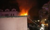FETÖnün kapatılan yurdunda ikinci yangın çıktı