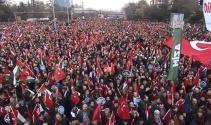 """""""Kudüs'e Özgürlük, İnsanlığa Barış"""" mitingi başladı"""