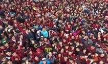 Gazişehir'de 'Kurtuluş' için koştular