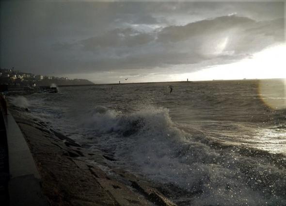 Marmara Denizi'nde lodos etkisi