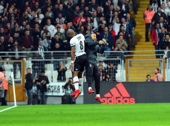 Beşiktaş- Osmanlıspor maçından kareler