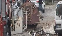 Gaziosmanpaşada tekstil atölyesinin buhar kazanı patladı: 2 yaralı
