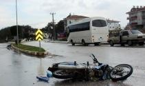 Liseli 2 çocuk motosiklet kurbanı oldu