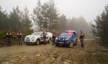 Kayıp 5 kişilik aile ile ilgili olay yerinde keşif yapıldı