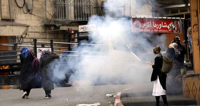 Batı Şeriada sert müdahale: 81 yaralı
