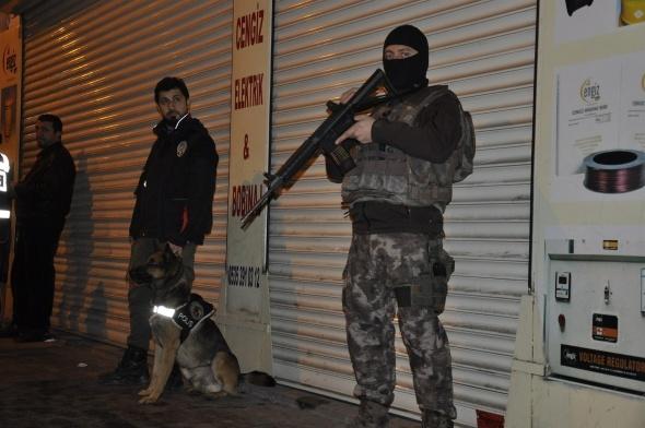 700 polisle hava destekli asayiş uygulaması