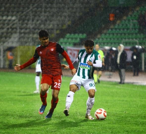 Akın Çorap Giresunspor: 2 - Gaziantepspor: 0