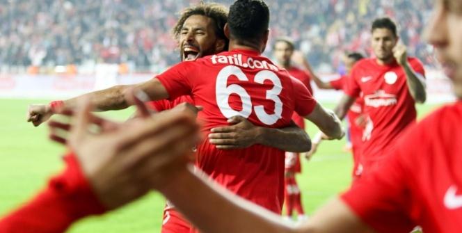 Antalyaspor Alanyaspor maçından kareler