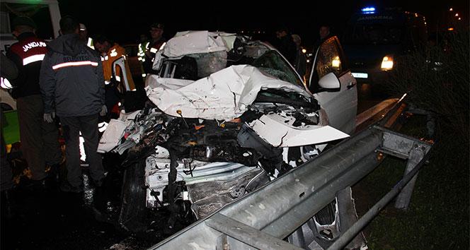 Aydın-İzmir otoyolunda trafik kazası: 3 ölü, 1 yaralı