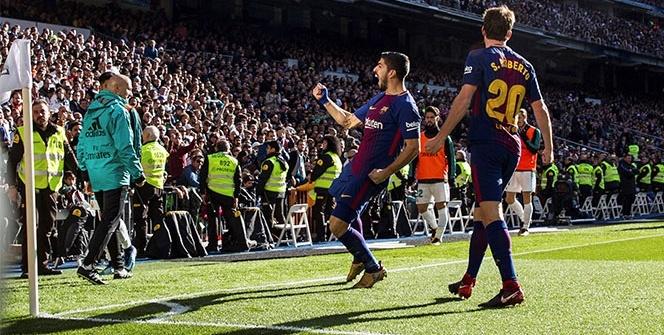 El Classico'da Barcelona, Real Madrid'i dağıttı: 0-3