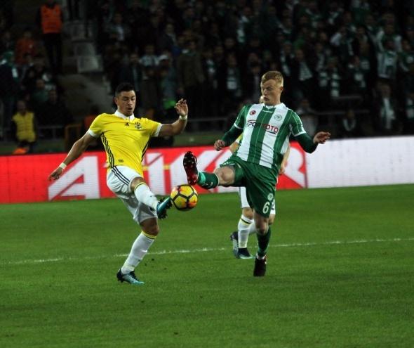 Konyaspor Fenerbahçe Maçından Kareler