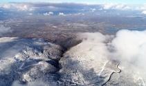 Kartepe'nin eşsiz doğası havadan görüntülendi