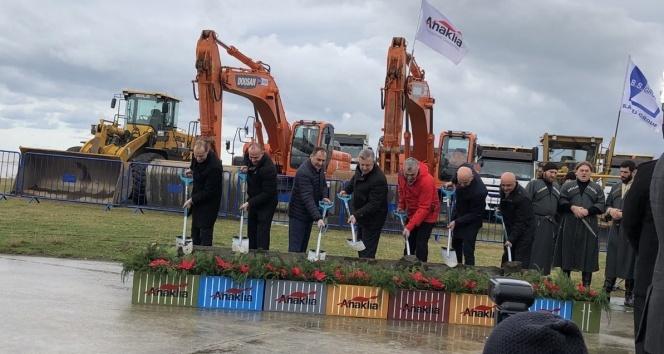 Gürcistan'da Anaklia Derin Deniz Limanı'nın inşası başladı