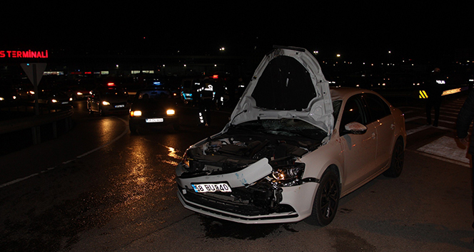 Sivasta otomobil bisiklete çarptı: 1 ölü, 1 yaralı