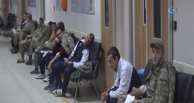 Son dakika! Gaziantepte 70 asker zehirlendi