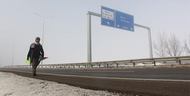 İsrail zulmüne dikkat çekmek için 9 gündür yollarda