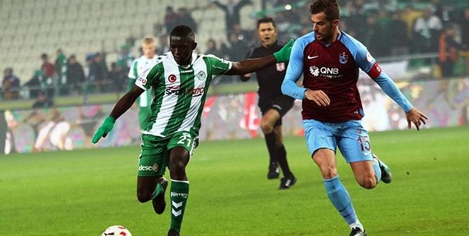 Konyaspor Trabzonspor Maçından Kareler